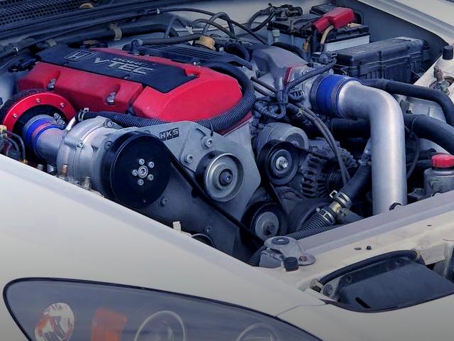 HKS GT SUPERCHARGED F20C VTEC