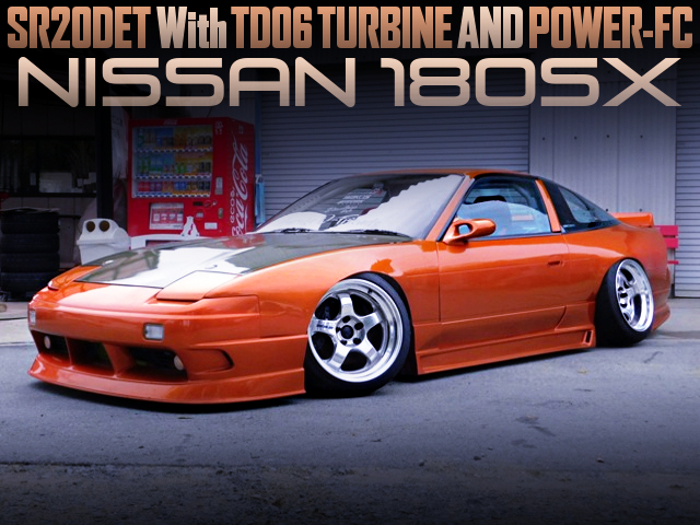 SR20DET With TD06 TURBO AND POWER-FC OF 180SX WIDEBODY