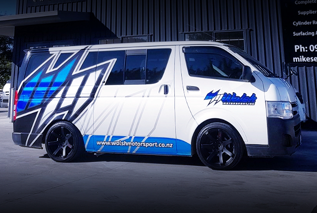SIDE EXTERIOR H200 TOYOTA HIACE