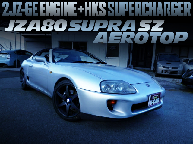 2JZ With HKS SUPERCHARGER INTO A JZA80 SUPRA SZ AEROTOP