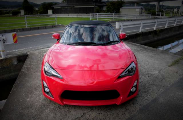 FRONT TOYOTA 86 CONVERT TO MR-S