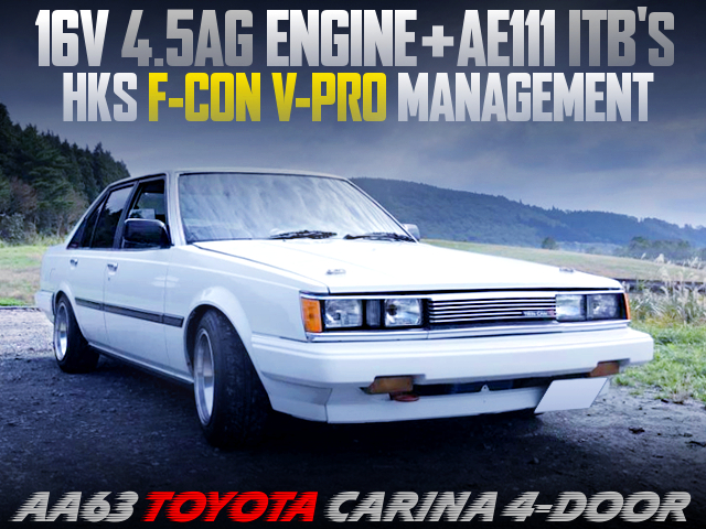 16V 4.5AG With AE111 ITBs AND VPRO OF AA63 CARINA 4-DOOR