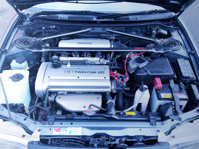 20-VALVE 4AG ENGINE OF AE101 MOTOR