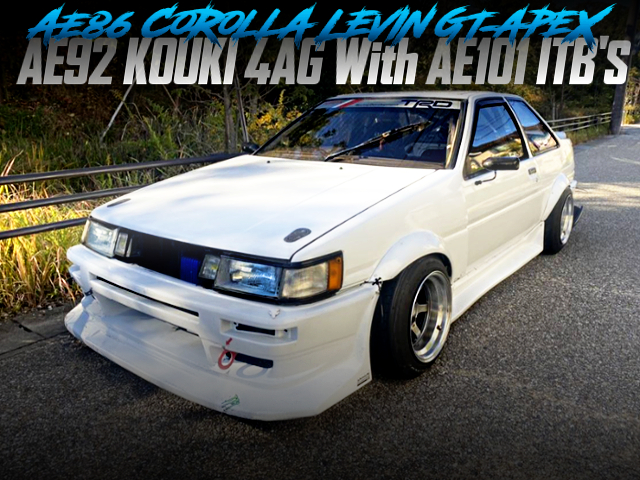 AE92 KOUKI 4AG WITH ITBs INTO AE86 LEVIN GT-APEX