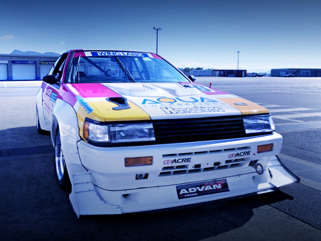 FRONT EXTERIOR AE86 LEVIN N2