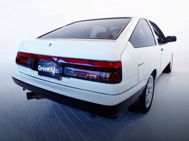 REAR EXTERIOR OF AE86 TRUENO GT-V