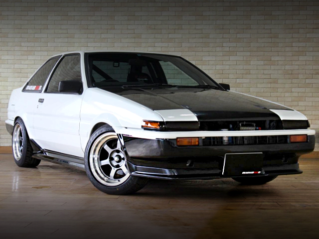 FRONT EXTERIOR AE86 LEVIN GT