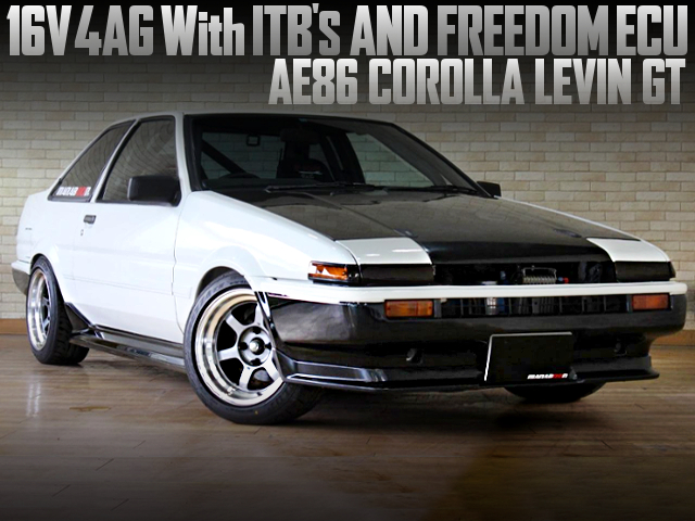 16V 4AG With ITBs AND FREEDOM ECU INTO AE86 LEVIN GT
