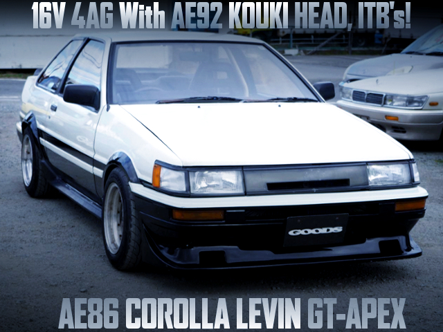 16V 4AG WITH AE92 HEAD AND ITBs INTO AE86 LEVIN GT-APEX