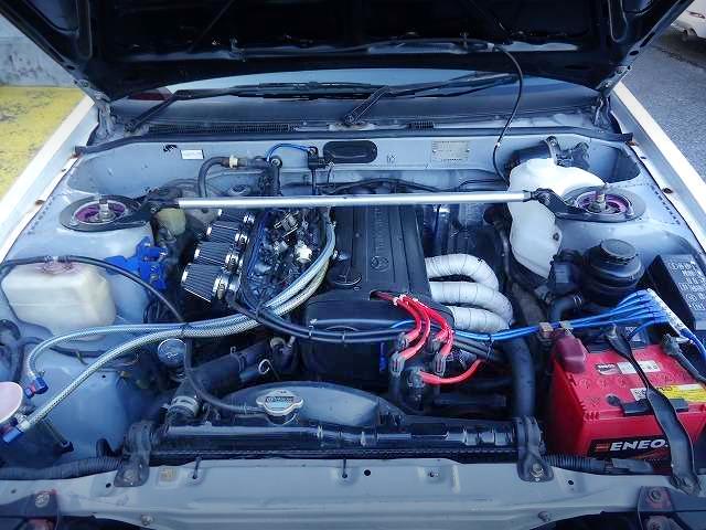 20V 4AG ENGINE INTO AE86 TRUENO ENGINE ROOM