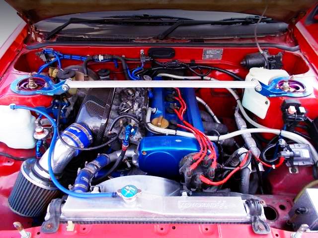 AE101 20V 4AG ENGINE SWAP TO AE86 ENGINE ROOM