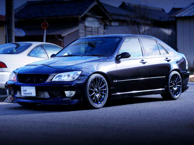 FRONT EXTERIOR OF ALTEZZA TURBO