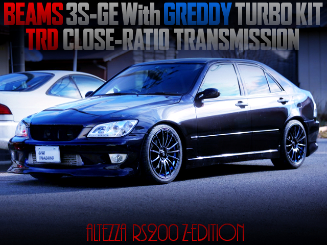 3S-GE TURBO AND CLOSE-RATIO GEARBOX INTO ALTEZZA RS200 S-ZD
