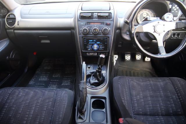 INTERIOR OF ALTEZZA RS200 Z-EDITION