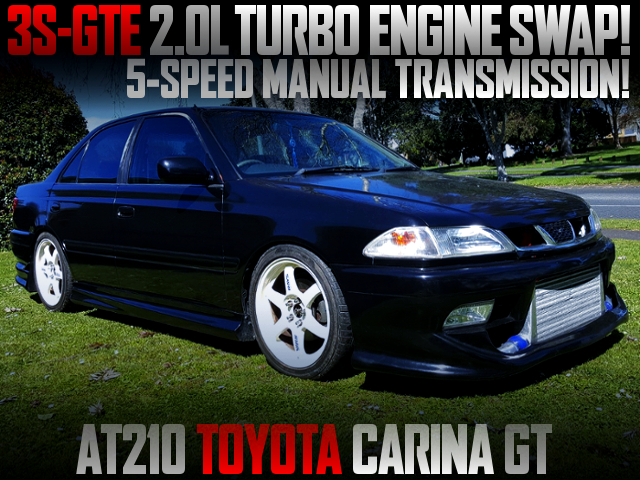 3S-GTE 2000cc TURBO SWAPPED AT210 CARINA GT