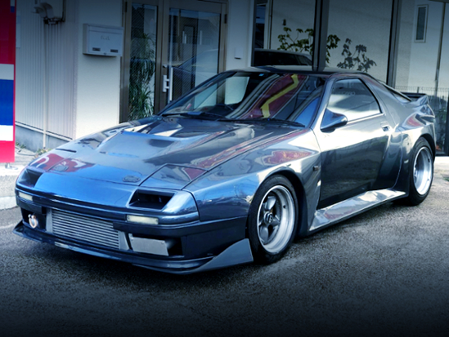 FRONT EXTERIOR OF BORGH ACHEVE 89S WIDEBODY FC3S RX7