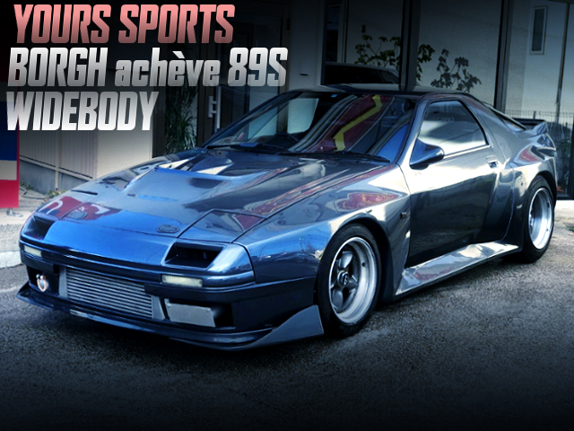 YOURS SPORTS BORGH ACHEVE 89S WIDEBODY FC3S RX7
