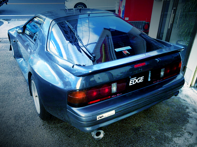 REAR EXTERIOR OF BORGH ACHEVE 89S WIDEBODY FC3S RX7