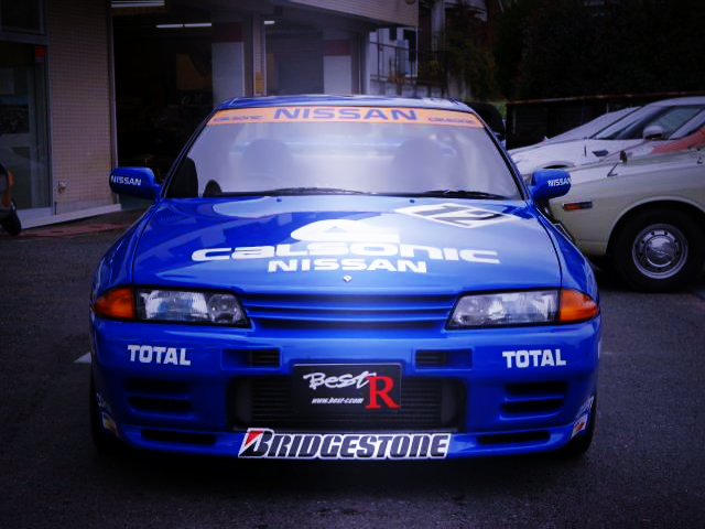FRONT FACE OF CALSONIC R32 GT-R REPLICA