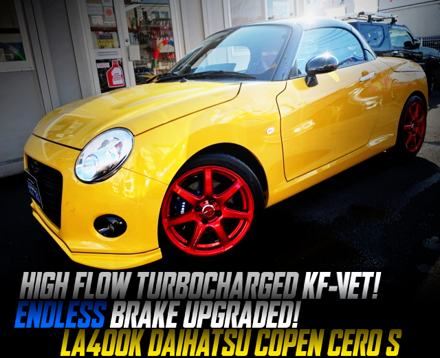 HIGH-FLOW TURBOCHARGED LA400K COPEN CERO S