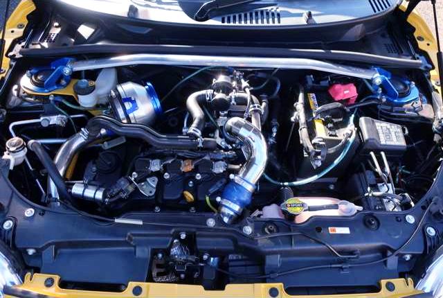 KF-VET TURBO ENGINE OF COPEN CERO S MOTOR