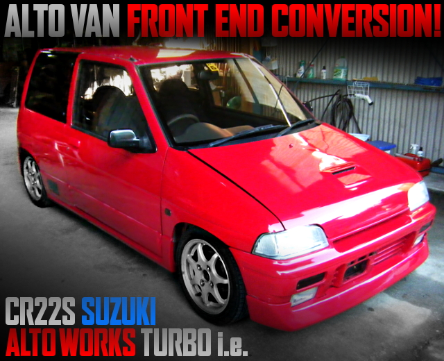 ALTO VAN FRONT END TO CR22S ALTOWORKS TURBO ie
