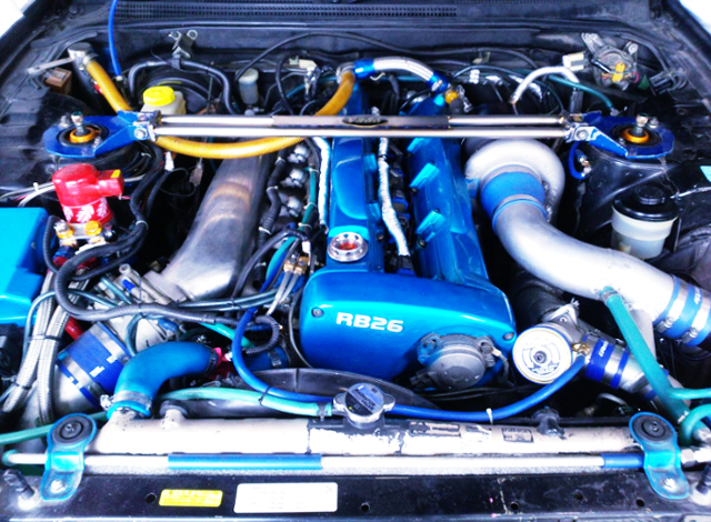 RB25DET 2700cc With RB26 ENGINE COVER
