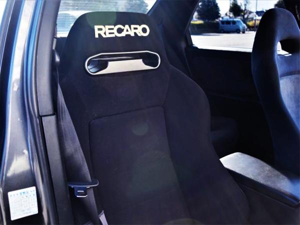 RECARO SEATS AT DRIVER