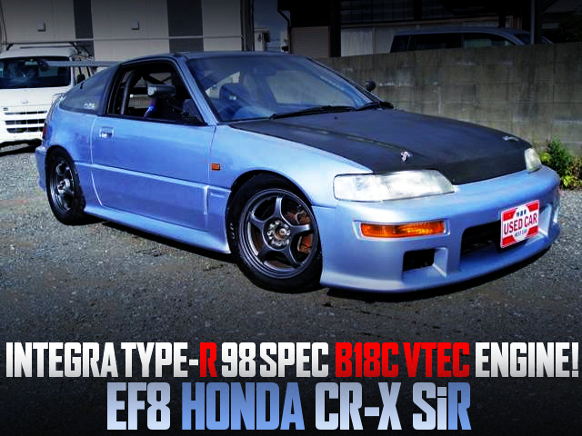 INTEGRA TYPE-R 98SPEC B18C VTEC SWAPPED EF8 CR-X SiR