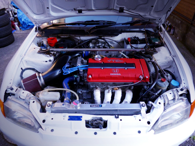 VTEC HEAD ON B18B 1800cc ENGINE