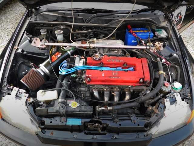 B16 VTEC ENGINE OF EG6 CIVIC SiR MOTOR