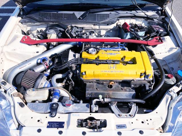 B16B KAI VTEC TURBO ENGINE