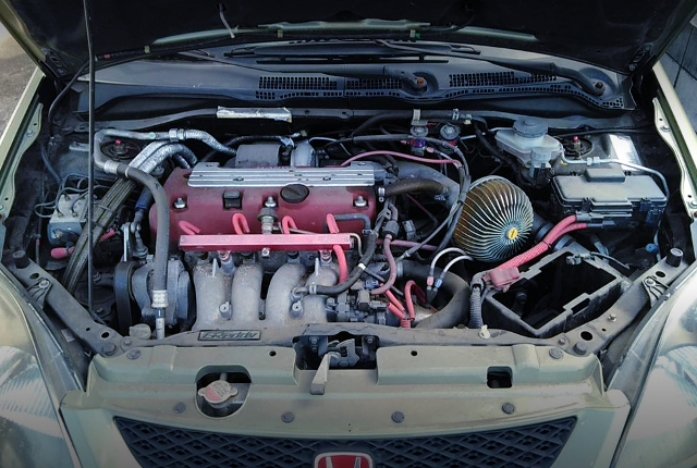 K20A KAI TURBO ENGINE WITH NX NOS KIT