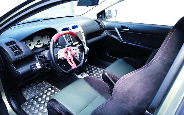 LEFT HAND DRIVE INTERIOR OF EP3 CIVIC TYPE-R