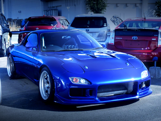 FRONT EXTERIOR OF FD3S RX-7 TYPE-RS