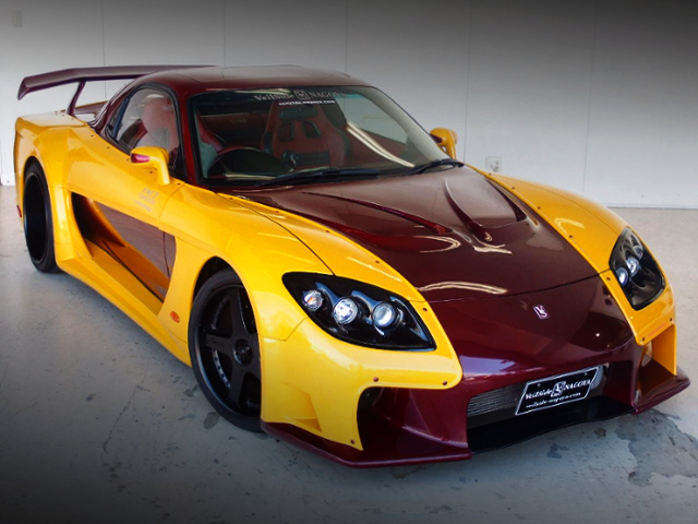 FRONT EXTERIOR OF FORTUNE RX-7