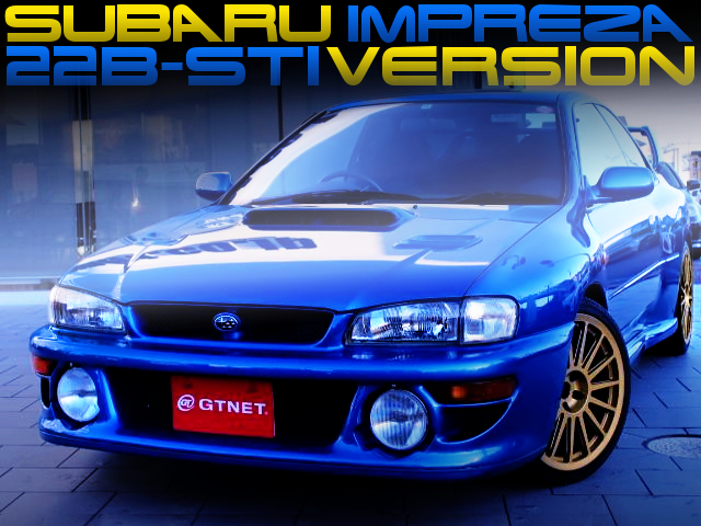 400 CARS LIMITED OF GC8 IMPREZA WRX STI VERSION