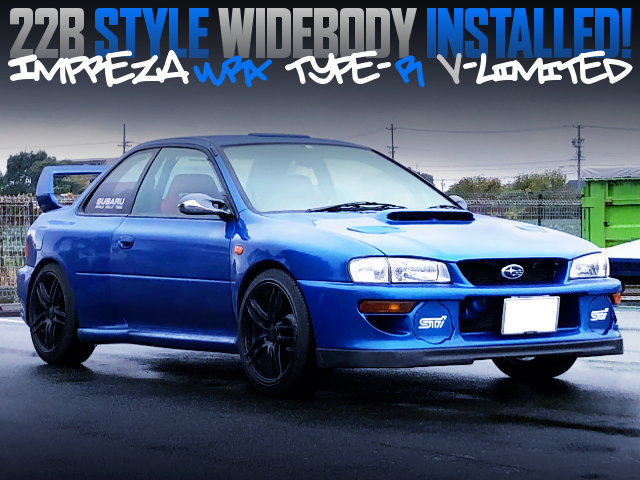 22B STYLE WIDEBODY OF GC8 IMPREZA COUPE WRX TYPE-R V-LTD