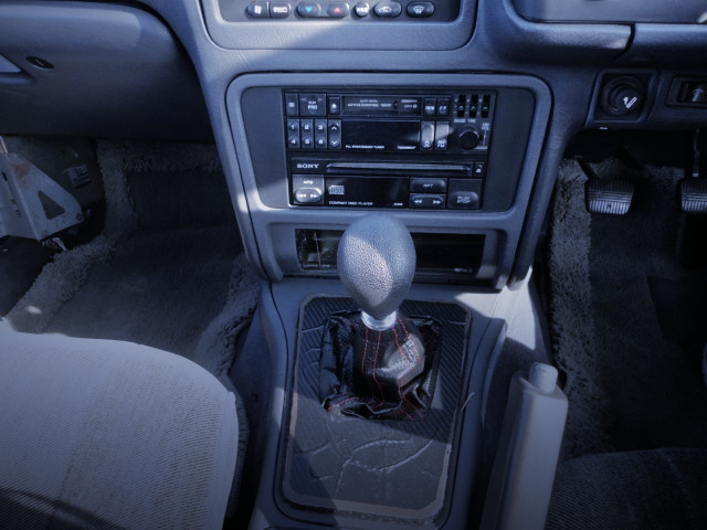 5-SPEED MANUAL SHIFT CONVERSION INTERIOR OF GF31 LEOPARD