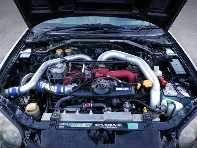 EJ207 BOXER ENGINE OF GDB BLOBEYE