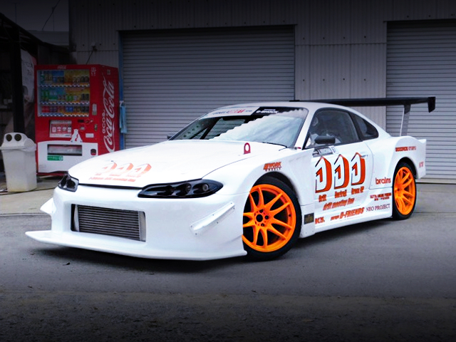 FRONT EXTERIOR S15 SILVIA GT WIDEBODY