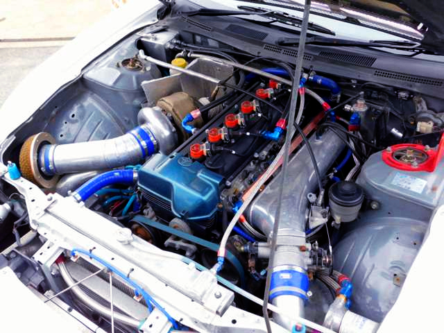 2JZ-GTE WITH T88 SINGLE TURBO