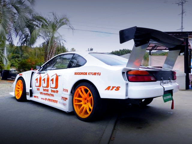 REAR EXTERIOR S15 SILVIA GT WIDEBODY