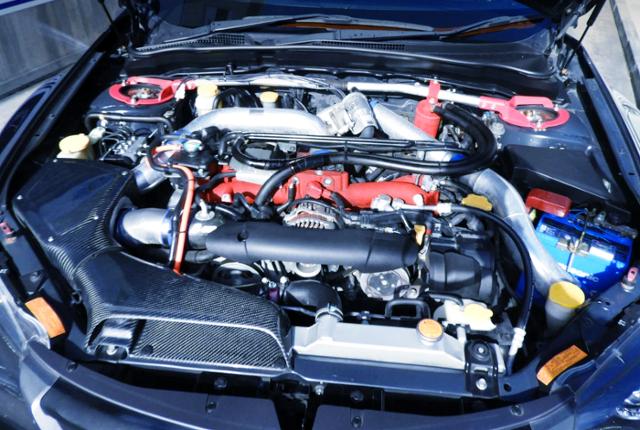 EJ207 BOXER TURBO ENGINE OF GVB WRX STI MOTOR