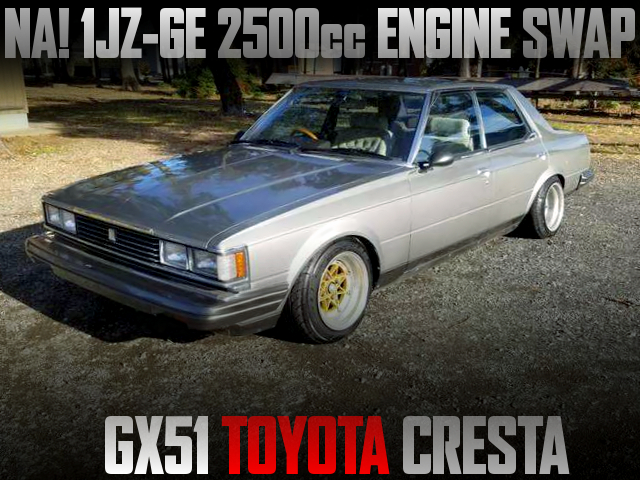 1JZ-GE 2500cc AND 5MT SWAPPED GX51 CRESTA