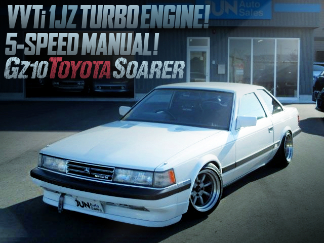VVTi 1JZ TURBO AND 5MT INSTALLED GZ10 SOARER GT