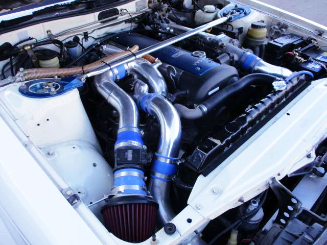 CHROME INTAKE PIPE CUSTOM TO 1JZ-GTE