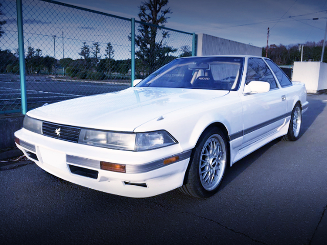 FRONT EXTERIOR OF GZ20 SOARER TO WHITE COLOR
