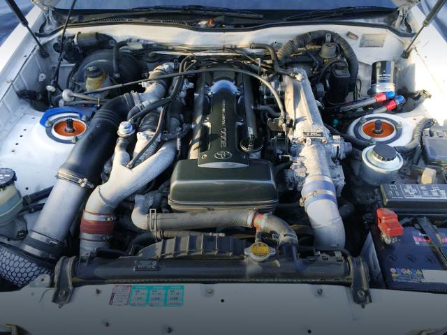 2JZ-GTE 3000cc TWINTURBO ENGINE OF NON-VVTi