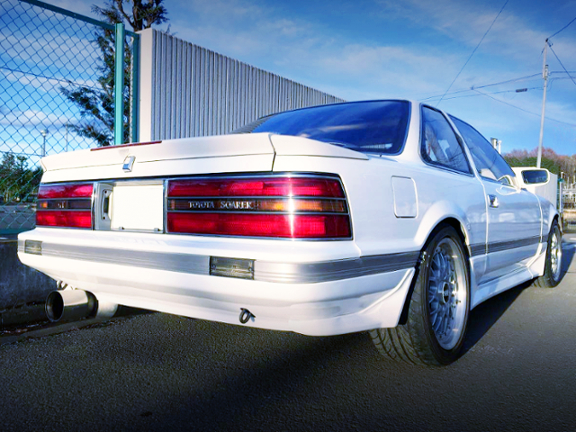 REAR EXTERIOR OF GZ20 SOARER TO WHITE